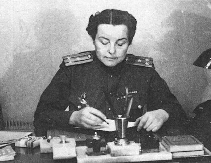 Полковник Зоя Воскресенская-Рыбкина