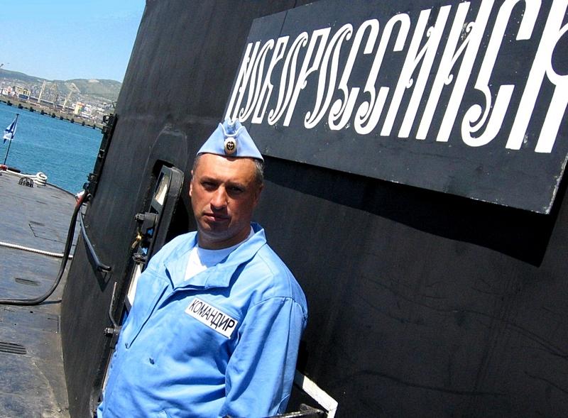 Капитан 2 ранга Константин Табачный.