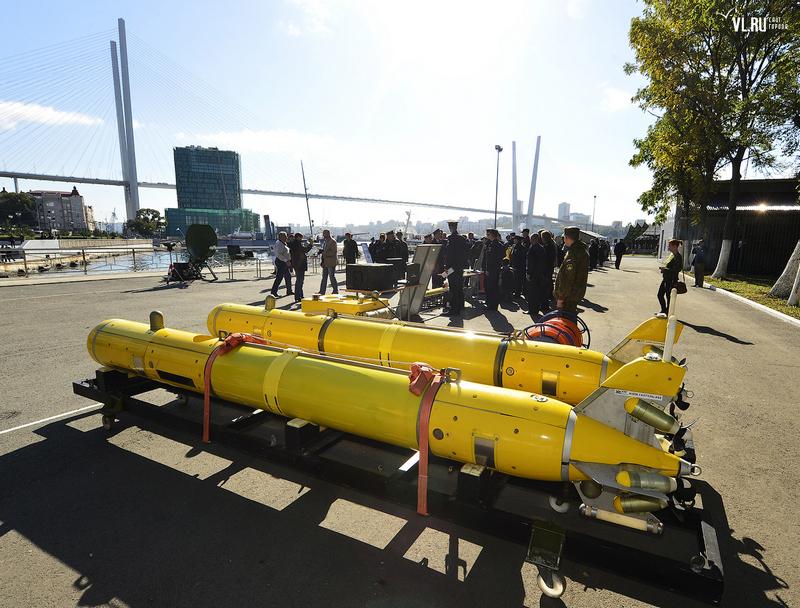 Роботизированный морской комплекс -