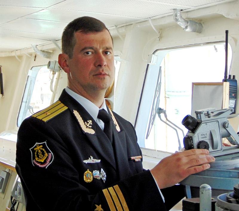 Командир фрегата