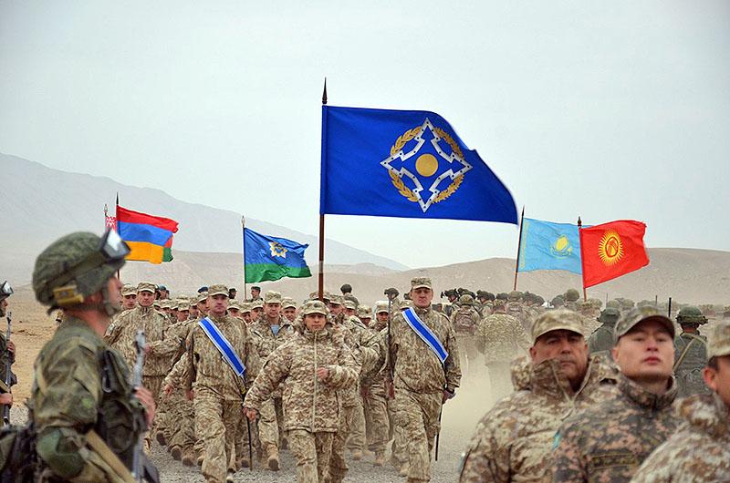 Учение Коллективных сил ОДКБ в Республике Таджикистан