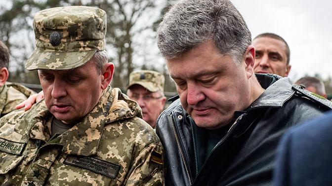 Порошенко: Литва сообщила украинской армии 150 телескопов