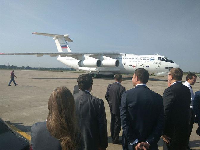 Тестирования  мотора  для самолета Ил-112В начались вПодмосковье