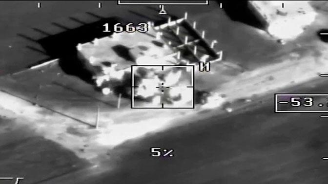 Минобороны опубликовало видео специализированной операции вСирии